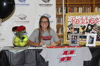 Congratulations to Grace Davis on signing to play with Henderson State University.